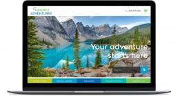 Banff Adventures Desktop Home Page
