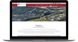CAAP Desktop Region Page