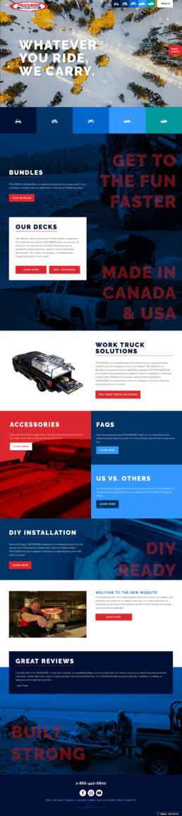 Truckboss Desktop Homepage